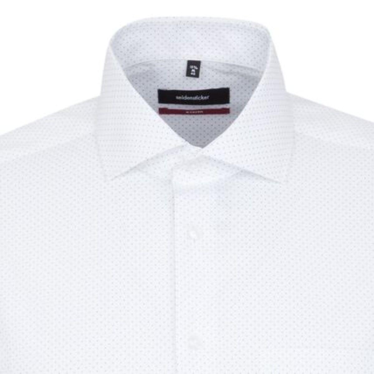 Bild 2 von Seidensticker Business Hemd Modern Langarm Kentkragen Punkte, blau