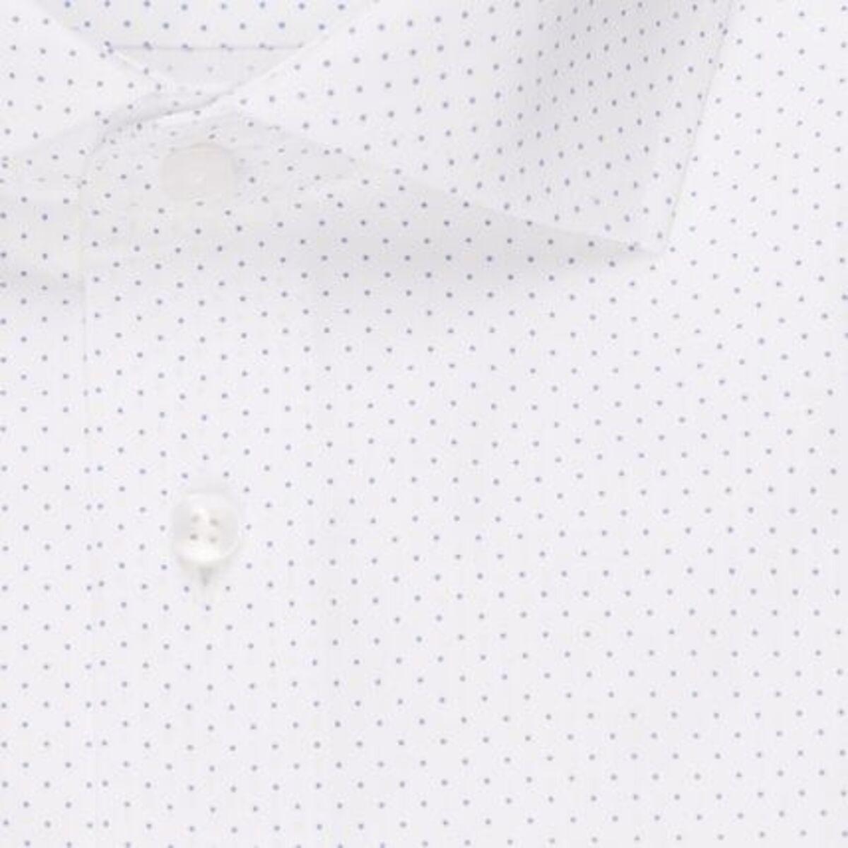 Bild 4 von Seidensticker Business Hemd Modern Langarm Kentkragen Punkte, blau