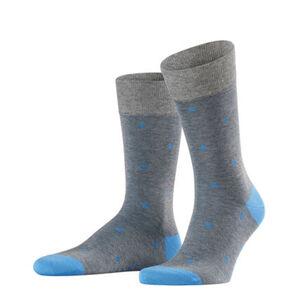 Falke Herren Socken Dot, steel melange, 43-46, 43-46