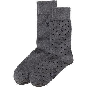 Marc O'Polo Herren-Socken 2erPack uni/gemustert