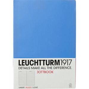 Leuchtturm1917 Jottbook A4, 60 Seiten, liniert, hellblau, hellblau