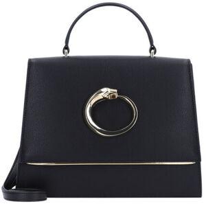 Roberto Cavalli Class Michelle Handtasche Leder 30 cm, black, black