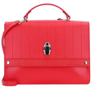 Roberto Cavalli Class Dauphine Handtasche Leder 30 cm, red, red