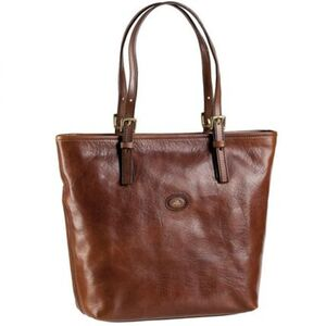The Bridge Story Donna Shopper Leder 26 cm, marrone, marrone