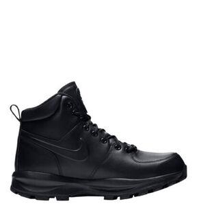 Nike Herren Boots Manoa, schwarz, 45