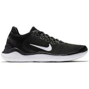 """Nike Laufschuhe """"Free RN 2018"""", Neutral, atmungsaktiv, enge Passform, für Damen, schwarz/weiß, 39"""