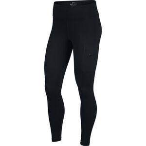 Nike Damen Tights Power Hyper, schwarz, XS/kurz, XS/kurz