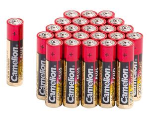 Micro (AAA) Alkaline Batterien, 24 Stück Camelion