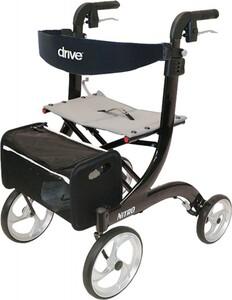Drive Medical Rollator Nitro Leichtgewicht ,  schwarz