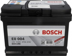 Bosch Eco Line SLI-Batterie, 53 Ah, 470 A ,  Maße: 242 x 175 x 175 mm (L x B x H)