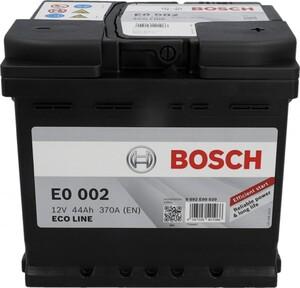 Bosch Eco Line SLI-Batterie, 44 Ah, 370 A ,  Maße: 207 x 175 x 190 mm (L x B x H)