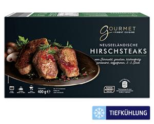 GOURMET Neuseeländische Hirschsteaks