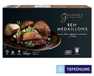 GOURMET Reh-Medaillons