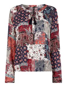 Damen Bluse mit Allover-Muster
