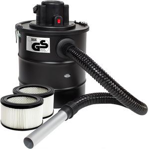 Aschesauger 1200W mit Metallsaugschlauch, Filter und 2 Ersatzfilter