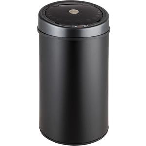 Sensormülleimer schwarz 50 L