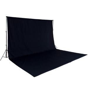 Fotohintergrund Komplettset schwarz