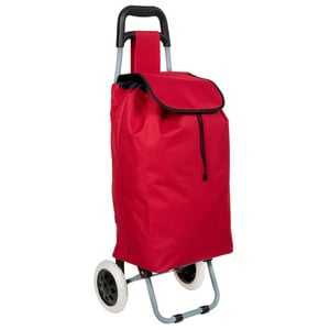 Einkaufstrolley rot