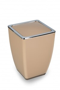 TrendLine Kosmetikeimer Cube ,  taupe, 5 l