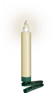 Krinner Lumix Superlight ,  Basisset, 10 LED Kerzen, elfenbein