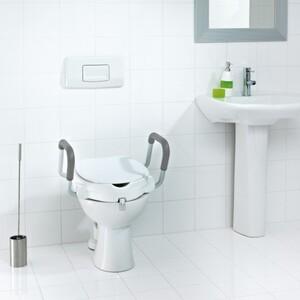 Ridder WC-Sitzerhöhung ,  mit Griffen und Deckel