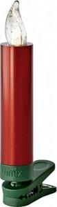 Krinner Lumix Superlight Mini ,  Basisset, 12 LED Kerzen, rot