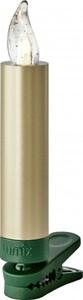 Krinner Lumix Superlight Mini ,  Erweiterungsset, 6 LED Kerzen, gold