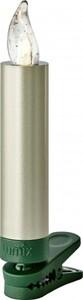 Krinner Lumix Superlight Mini ,  Basisset,12 LED Kerzen, cashmere