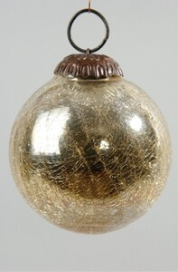 Kaemingk Craquele Kugel ,  gold