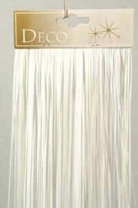 Kaemingk Vinyllametta glanz ,  50 x 40 cm, weiß