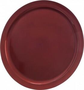 Kaemingk Kunststoffteller ,  Ø 40 cm, rot