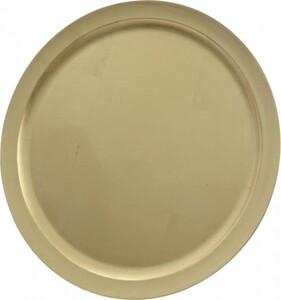 Kaemingk Kunststoffteller ,  Ø 40 cm, gold