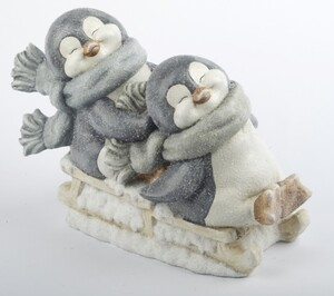 TrendLine Dekofigur Pinguin ,  40,5 x 19,5 x 30 cm