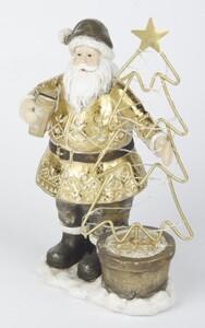 TrendLine Dekofigur Weihnachtsmann ,  22 cm