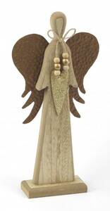 TrendLine Dekofigur Engel ,  20 x 6 x 42 cm