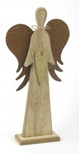 TrendLine Dekofigur Engel ,  14 x 4,5 x 29 cm