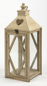 TrendLine Holz-Laterne ,  27 x 26 x 71 cm