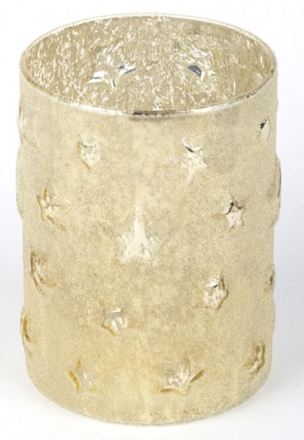 TrendLine Glas Windlicht Stern ,  11 x 15 cm