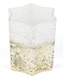 TrendLine Glas Windlicht Stern ,  7,5 x 7,5 x 7,5 cm