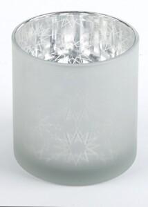 TrendLine Glas Windlicht ,  8,5 x 10 cm