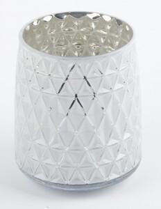 TrendLine Glas Windlicht ,  13 x 15 cm