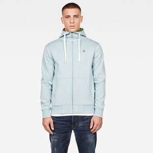 2-Tone Zip Through Pullover
