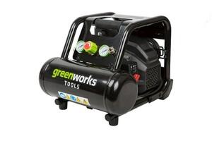 Greenworks Montagekompressor 5 l   B-Ware - der Artikel wurde 1x getestet und ist technisch einwandfrei