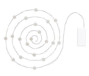 LED-Micro-Lichterkette »Schneeflocken«