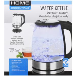 Home Essentials Gläserner Wasserkocher