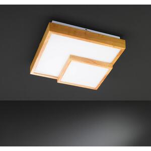 Wofi LED-DECKENLEUCHTE, Braun