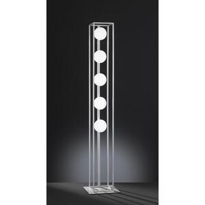 XXXL LED-STEHLEUCHTE, Silber
