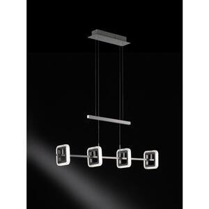 XXXL LED-HÄNGELEUCHTE, Silber, Silber