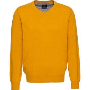 Dunmore Herren Seide-Cashmere Pullover, V-Ausschnitt