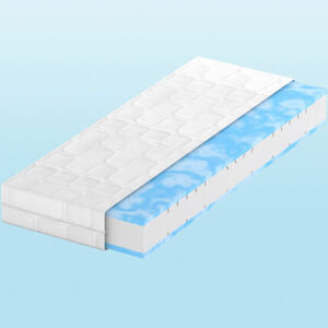 BeCo Duo-Gel Comfort Komfortschaummatratze, 090x200, H2